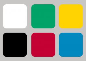 Reprezentacja systemu barw ncs - 6 kolorów